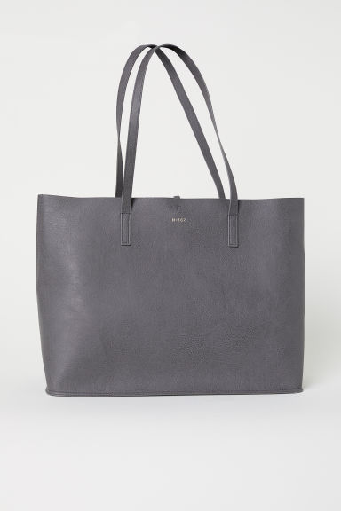 Shopper reversibile - Grigio - DONNA | H&M IT