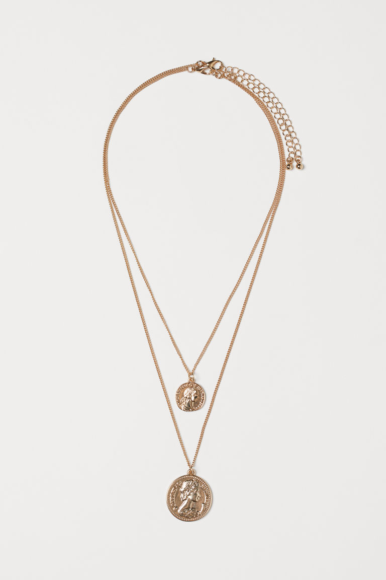2-pack Necklaces - Gold-colored - Ladies | H&M CA