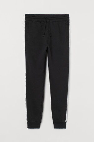 Pantalon jogging à galons