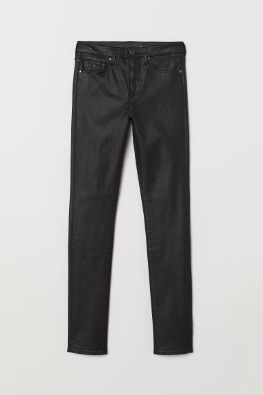 Shaping Skinny Regular Jeans - Black/Coating - Ladies | H&M IN