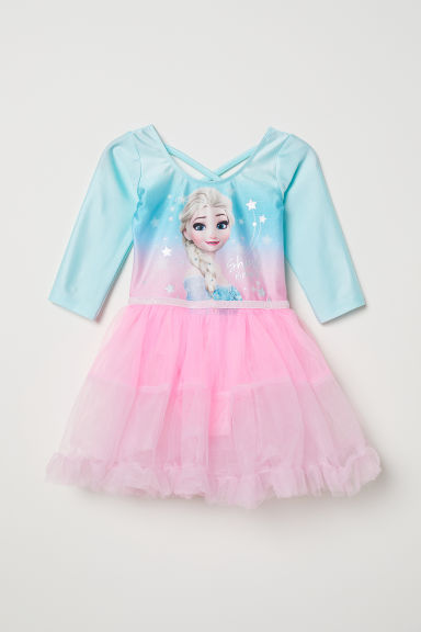 Tutù con gonna in tulle - Turchese chiaro/Frozen - BAMBINO | H&M IT