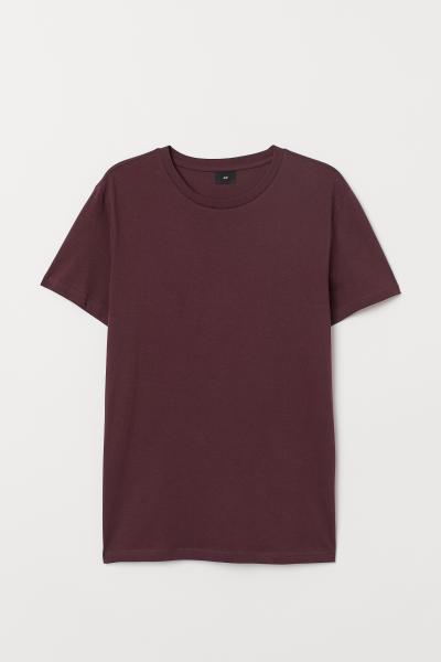 H&M - Cotton T-shirt Regular Fit - 4
