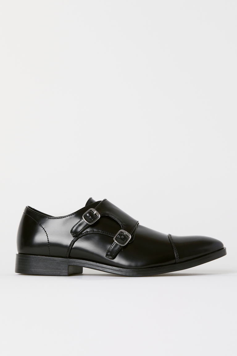 Monkstrap shoes - Black - Men | H&M CN