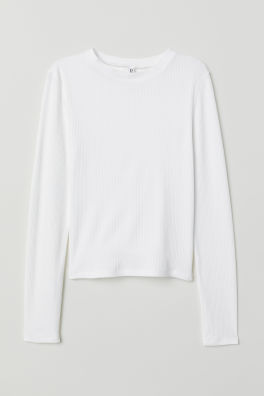 8a6ff354fd740e Women's Long Sleeve Shirts - Shop fashion online | H&M US