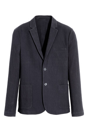 Blazer en seersucker Slim fit