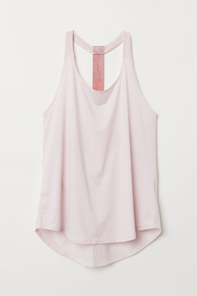 Sports vest top - Light pink - Ladies | H&M