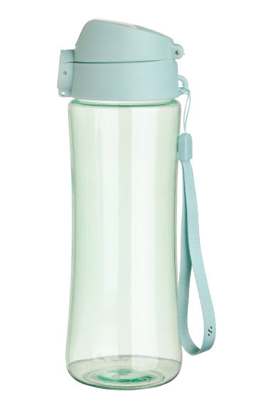 Water bottle with a lid - Light turquoise - Ladies | H&M