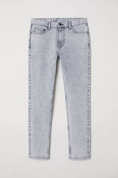 Slim Jeans - Light grey denim -  | H&M