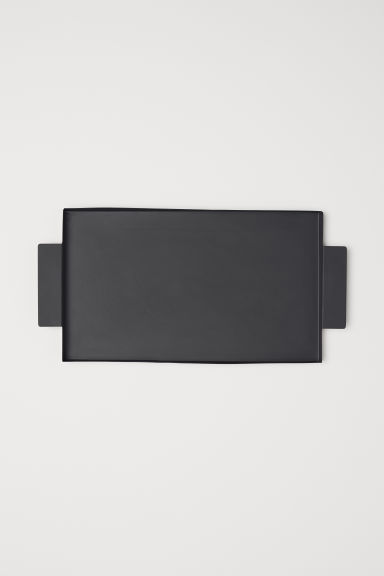 Metal Tray - Black - Home All | H&M US