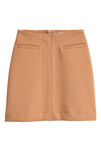 Knee-length skirt - Beige -  | H&M GB