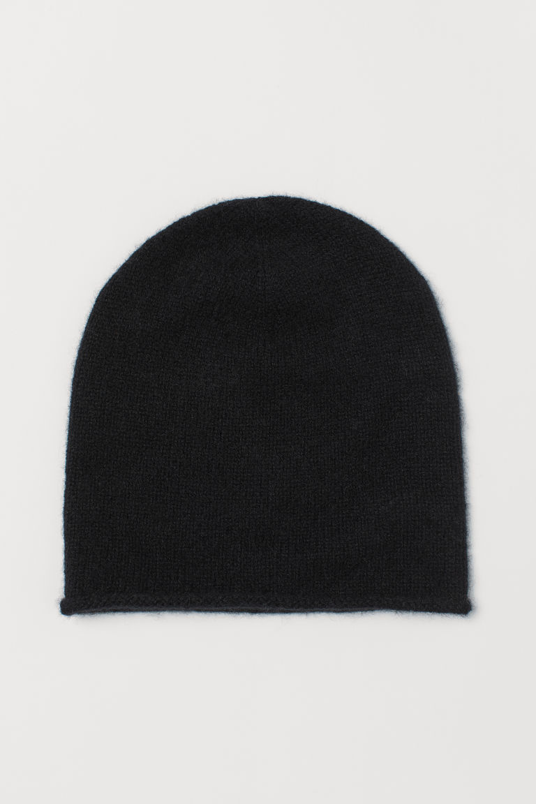 Cashmere hat - Black - Ladies | H&M CN