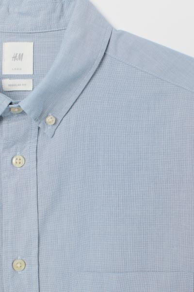 H&M - Cotton shirt Regular Fit - 6