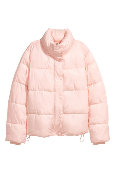 Padded Jacket - Light pink - Ladies | H&M CA