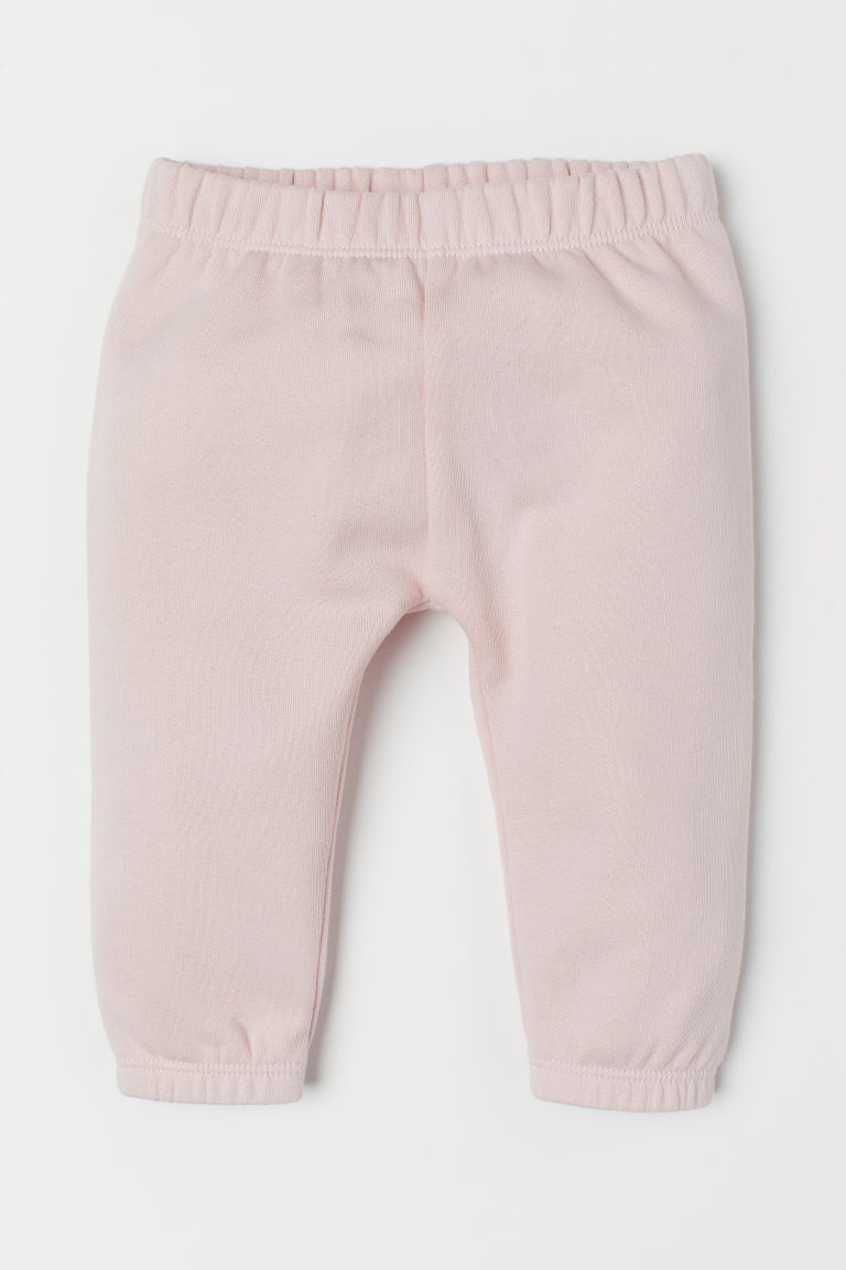 Cotton sweatpants - Light pink - Kids | H&M
