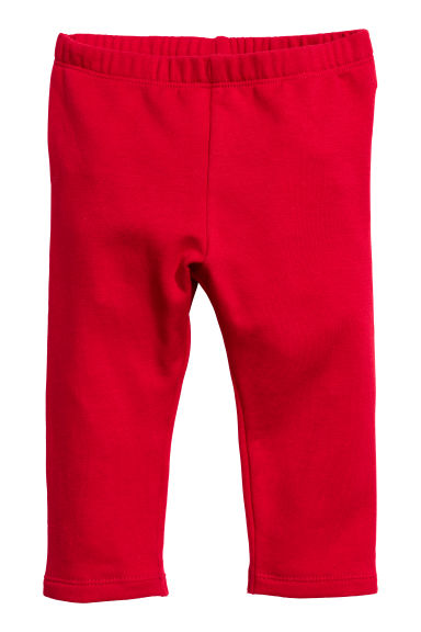 Sweatshirt leggings - Red -  | H&M CN