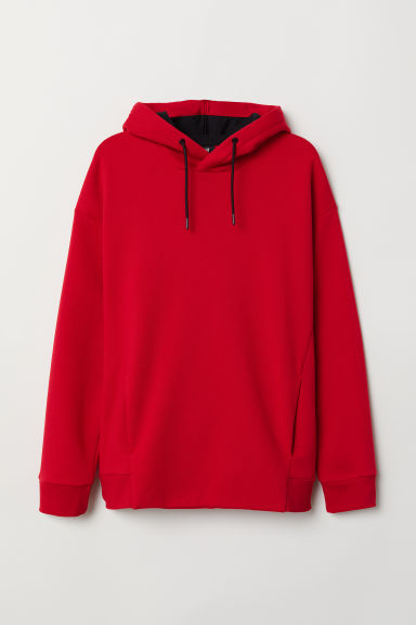 Hooded top - Red - Men | H&M CN