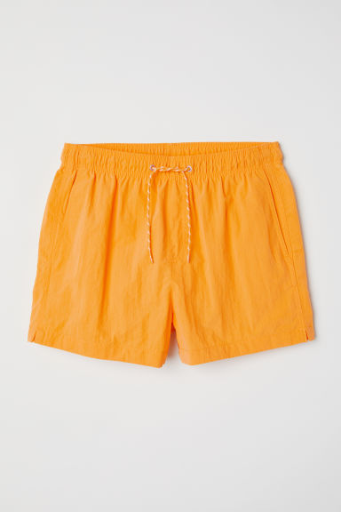 Short swim shorts - Bright yellow -  | H&M
