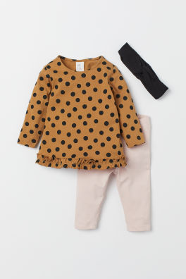 b6f72b5ce8b41 Baby Girl Clothes - Shop for your baby online | H&M US