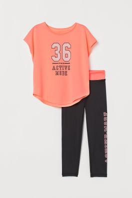 45718a36335 Ropa deportiva para niña - 8/14a - Compra online   H&M ES