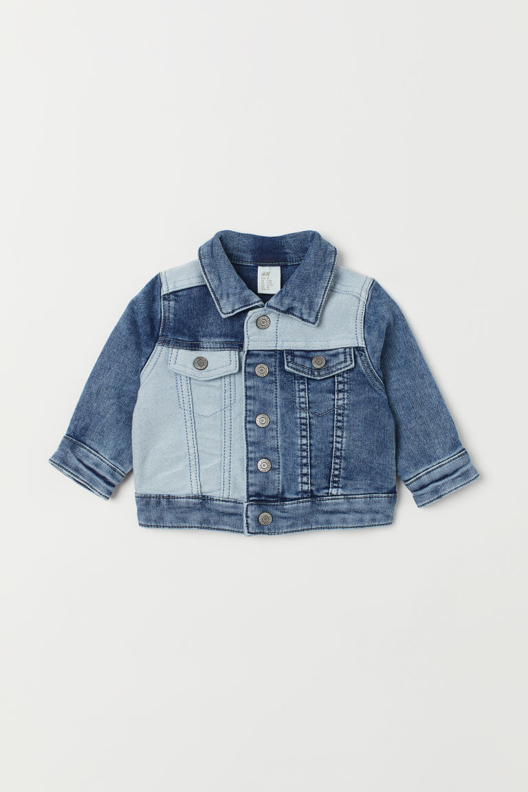 Block Coloured Denim Jacket by H&M