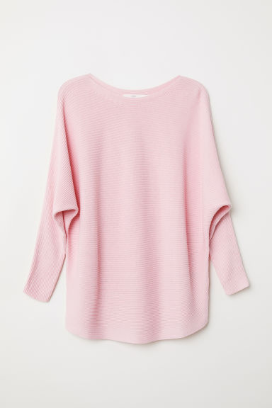 Pullover a coste - Rosa - DONNA | H&M IT