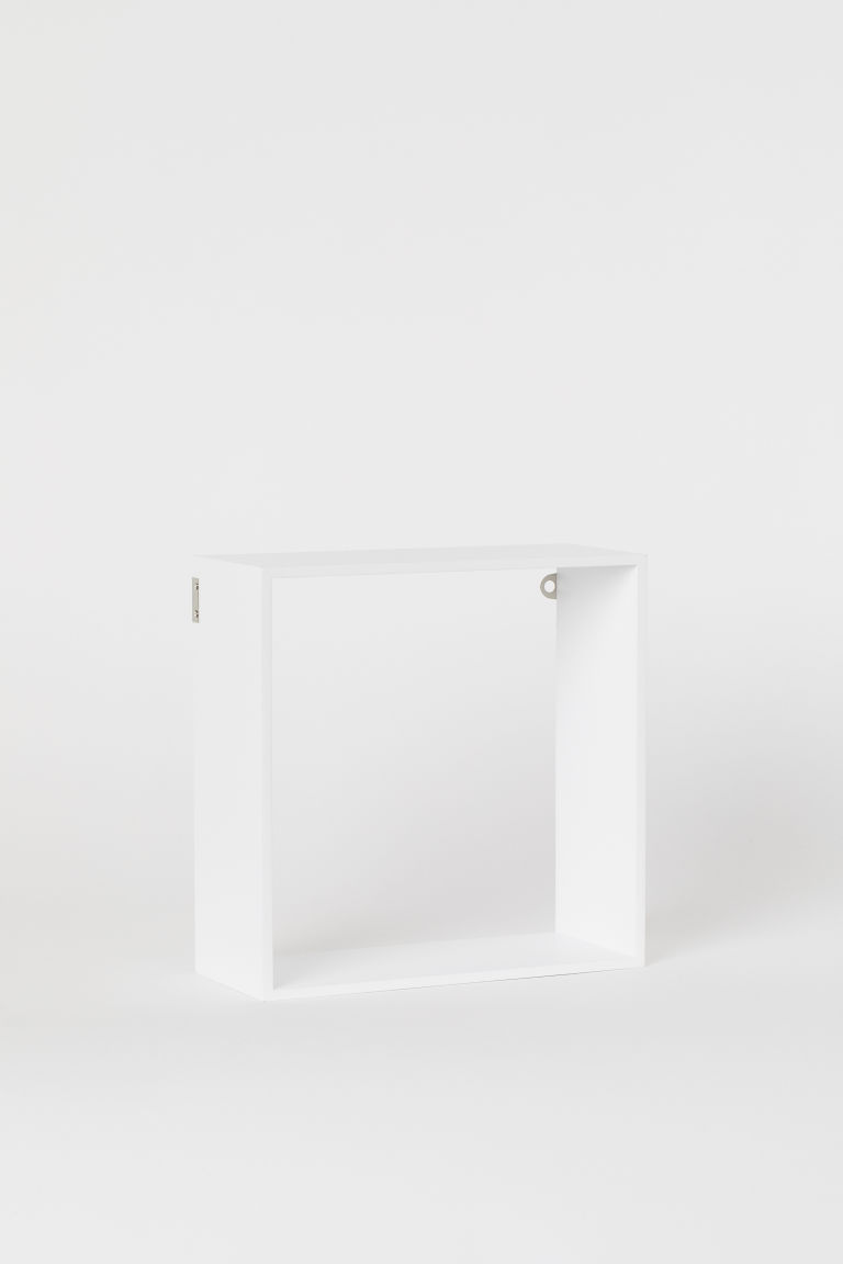 Estante de pared cuadrado - Blanco - Home All | H&M MX