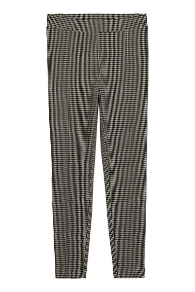 H&M+ Treggings - Beige/Dogtooth -  | H&M