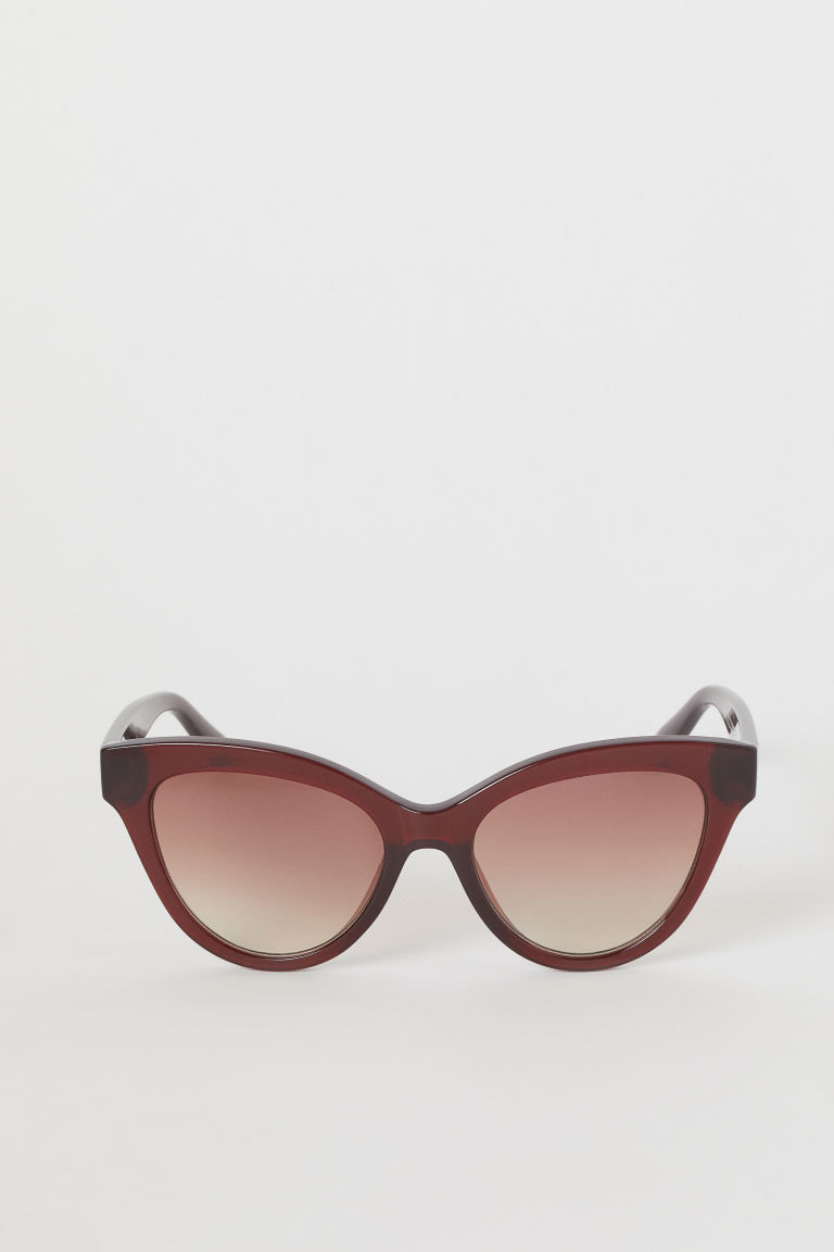 Sunglasses - Burgundy -  | H&M