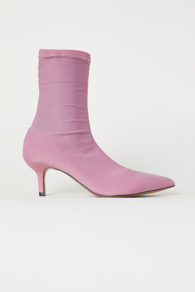 Sock boots - Roze - DAMES | H&M BE
