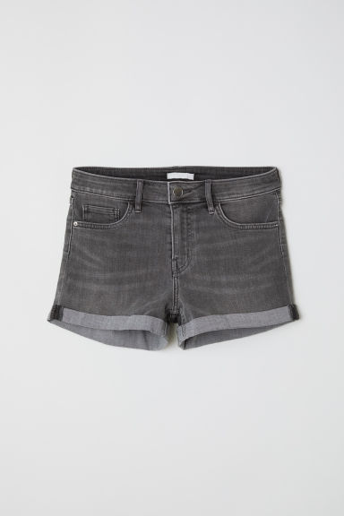 Jeansshort - Grijs denim - DAMES | H&M BE
