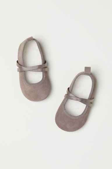 Suede slippers - Mole - Kids | H&M