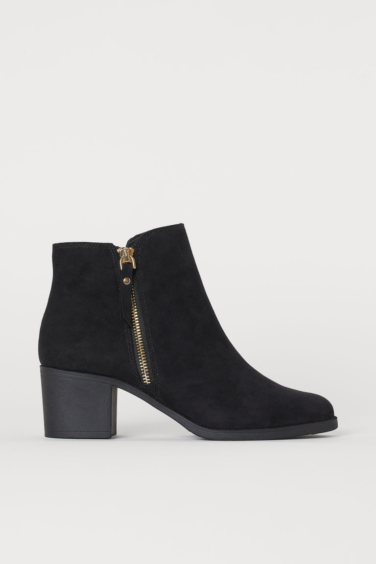 Ankle Boots - Black - Ladies | H&M CA
