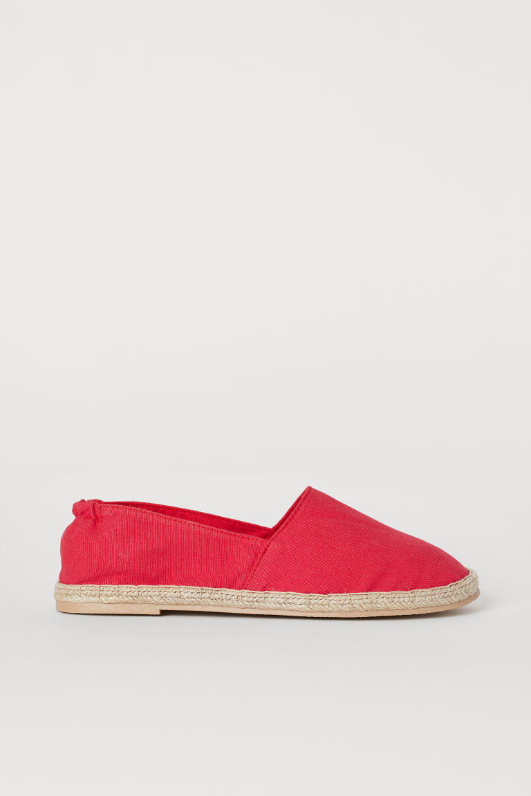 Espadrillas - Rosso - DONNA | H&M IT