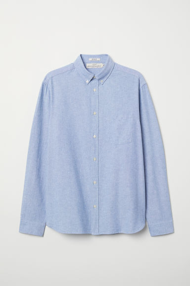 Oxford shirt Regular Fit - Blue - Men | H&M