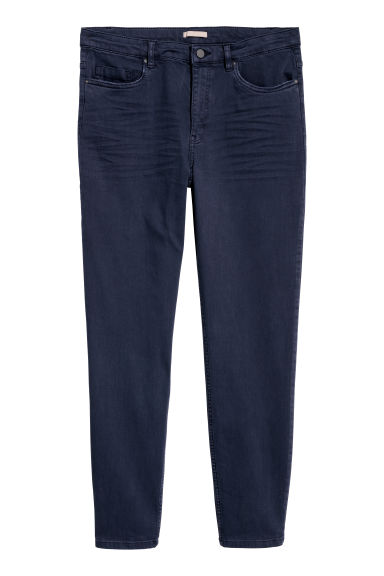 H&M+ Superstretch trousers - Dark blue - Ladies | H&M