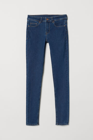 Super Skinny Regular Jeans - Donker denimblauw - DAMES | H&M BE