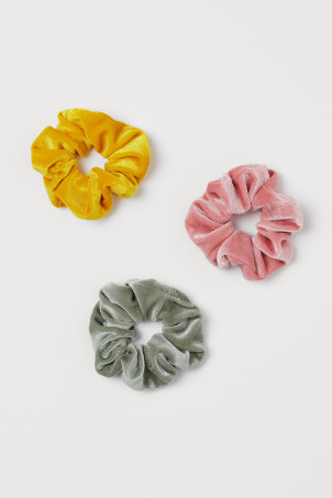 3-pack large scrunchies