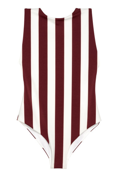 Swimsuit - White/Burgundy -  | H&M