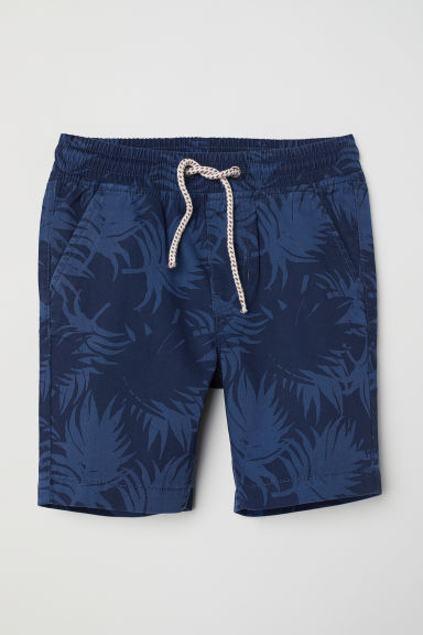 Shorts in twill - Blu scuro -  | H&M IT