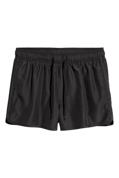 Short swim shorts - Black -  | H&M