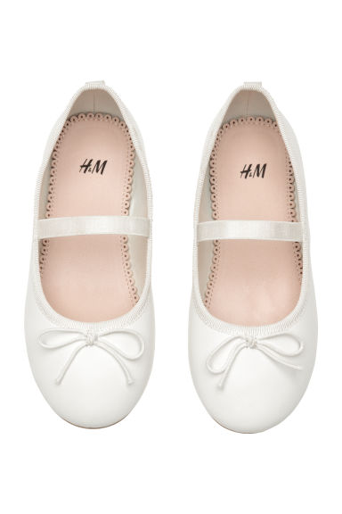 Ballet pumps - White - Kids | H&M CN