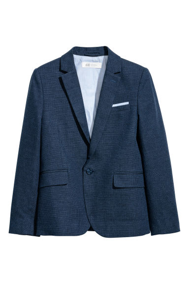Blazer a un bottone - Blu scuro -  | H&M IT