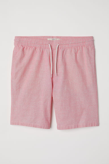Knee-length cotton shorts - Pink - Men | H&M