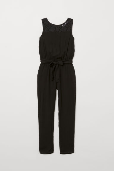 Viscose jumpsuit - Black - Kids | H&M