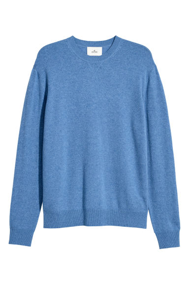 Cashmere jumper - Light blue marl -  | H&M