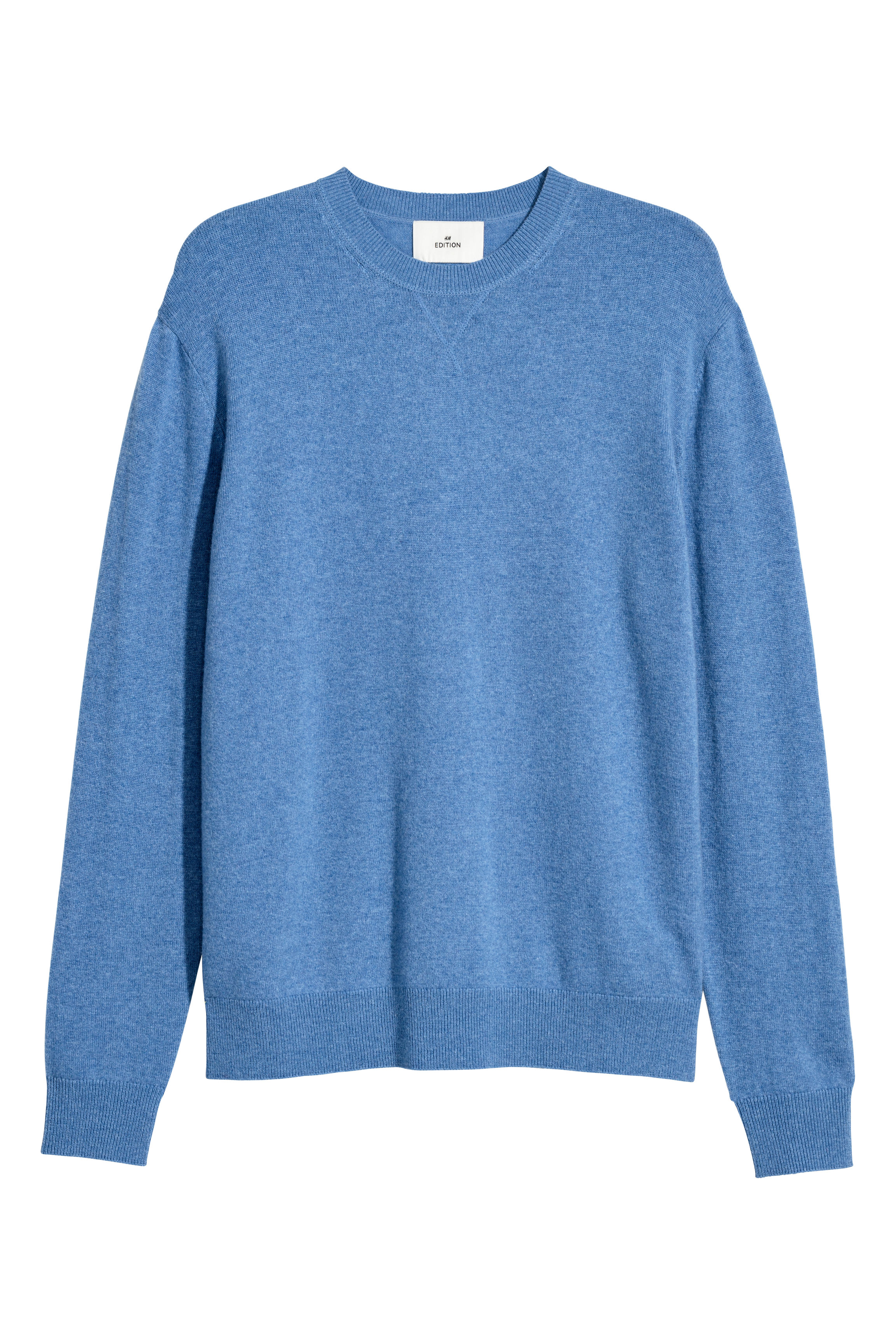 e9e6880e9 Cashmere Sweater - Gray melange - Men