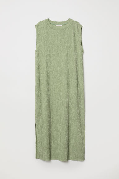 Sleeveless dress - Light green - Ladies | H&M