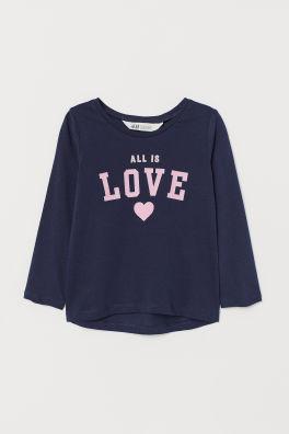 Como Decorar Una Camiseta De Navidad.Tops Y Camisetas Para Nina 18m 10a H M Es