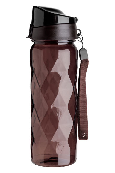 Water bottle with a lid - Dark red -  | H&M CN