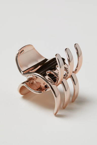 Hair claw - Rose gold-coloured -  | H&M